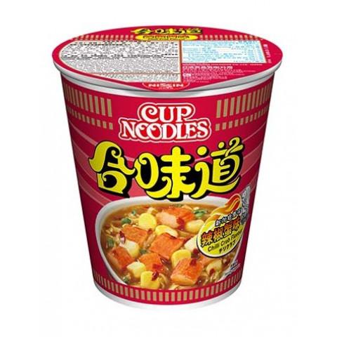 日清 合味道 杯麵 辣椒蟹味 75克