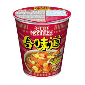 Nissin Cup Noodles Regular Cup Chilli Crab Flavour 75g x 4 pieces