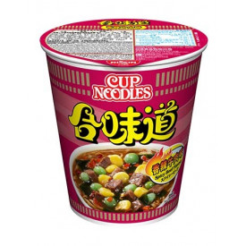 Nissin Cup Noodles Regular Cup Spicy Beef Flavour 75g x 4 pieces