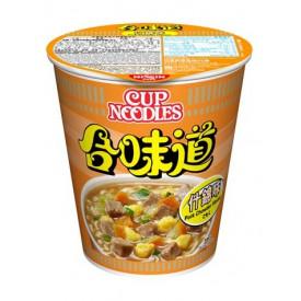 Nissin Cup Noodles Regular Cup Pork Chowder Flavour 75g