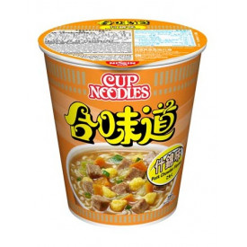 Nissin Cup Noodles Regular Cup Pork Chowder Flavour 75g x 4 pieces
