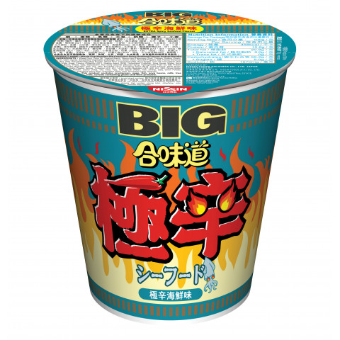 Nissin Cup Noodles Big Cup Extra Spicy Seafood Flavour 100g