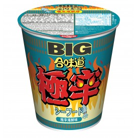 Nissin Cup Noodles Big Cup Extra Spicy Seafood Flavour 100g x 2 pieces