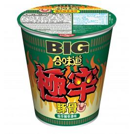 日清 カップヌードル ビッグ 激辛豚骨スープ 107g × 2コ