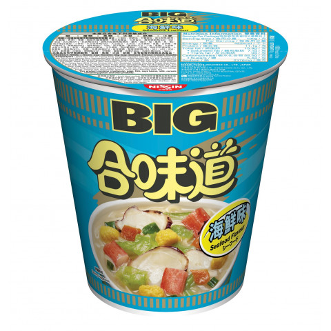 Nissin Cup Noodles Big Cup Seafood Flavour 100g