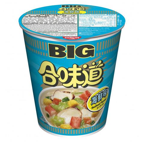 日清 カップヌードル ビッグ シーフード 100g × 2コ