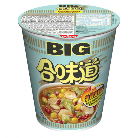Nissin Cup Noodles Big Cup Spicy Seafood Flavour 103g x 2 pieces