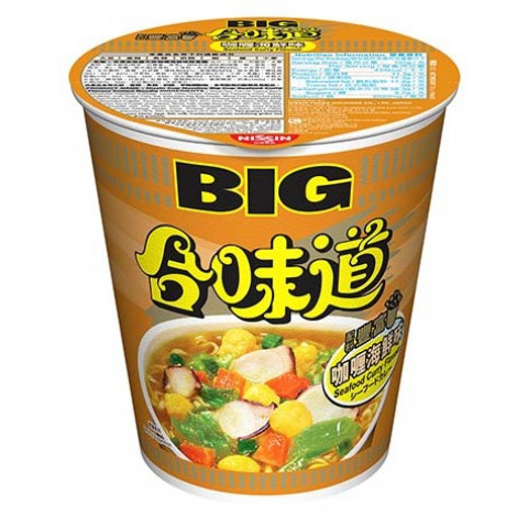 Nissin Cup Noodles Big Cup Curry Seafood Flavour 101g