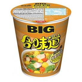 Nissin Cup Noodles Big Cup Curry Seafood Flavour 101g x 2 pieces