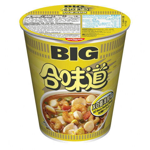 Nissin Cup Noodles Big Cup XO Sauce Seafood Flavour 105g