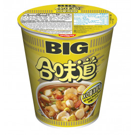 Nissin Cup Noodles Big Cup XO Sauce Seafood Flavour 105g x 2 pieces