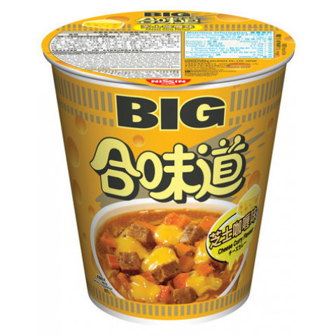 日清 カップヌードル ビッグ チーズカレー 113g