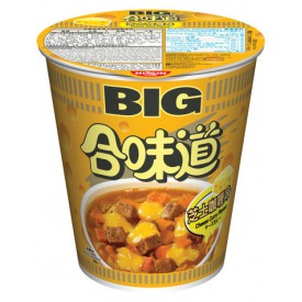 Nissin Cup Noodles Big Cup Cheese Curry Flavour 113g x 2 pieces