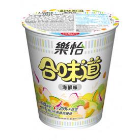 日清 合味道 樂怡杯麵 海鮮味 68克