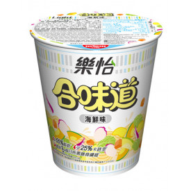 Nissin Cup Noodles Light Seafood Flavour 68g x 3 pieces