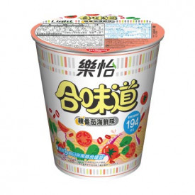 Nissin Cup Noodles Light Spicy Tomato Seafood Flavour 68g x 3 pieces