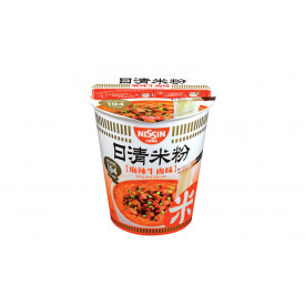 Nissin Rice Vermicelli Cup Type Spicy Beef Flavour 58g