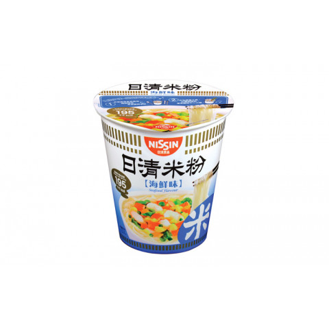Nissin Rice Vermicelli Cup Type Seafood Flavour 57g