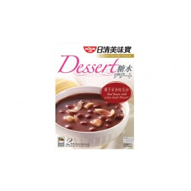 Nissin Retort Pouch Dessert Red Beans with Lotus Seeds 220g x 2 packs