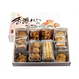 奇華餅家 「香港心」中華菓子ギフト 18コ入 10種類