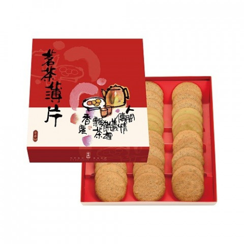 Kee Wah Bakery Assorted Tea Cookies Gift Box