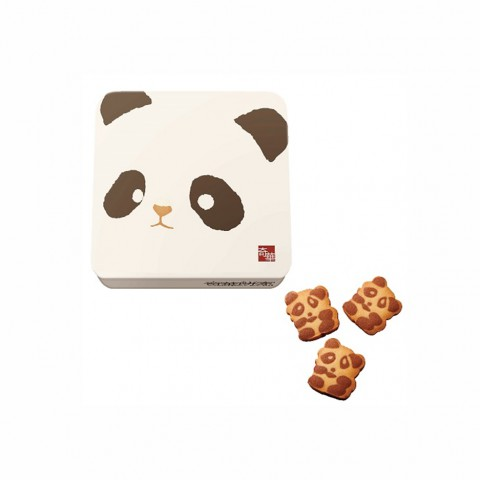 Kee Wah Bakery Panda Cookies (Can packing) 18 pieces