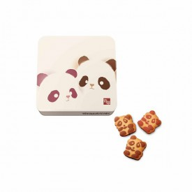 Kee Wah Bakery Assorted Panda Cookies (Can packing) 18 pieces