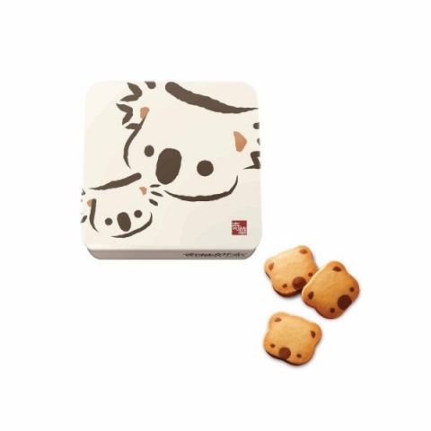 Kee Wah Bakery Koala Cookies (Can packing) 18 pieces