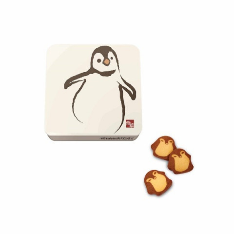 Kee Wah Bakery Penguin Cookies (Can packing) 18 pieces