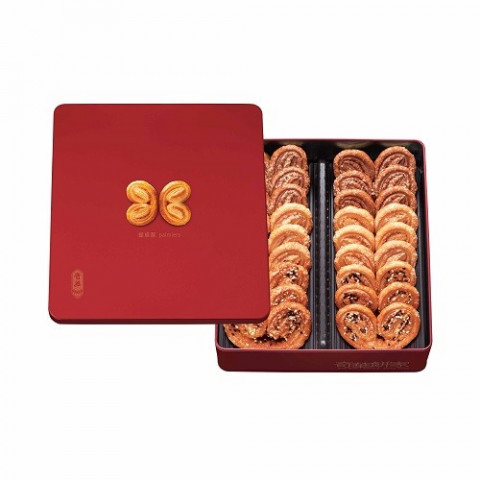 Kee Wah Bakery Assorted Palmiers Gift Box 18 pieces