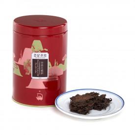 英記茶荘 缶入り茶葉 極上プーアル青餅 2004年産 150g