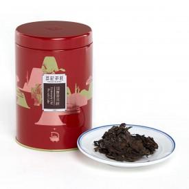 英記茶荘 缶入り茶葉 プーアル青餅 2013年産 150g