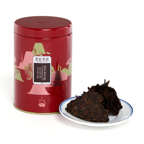 Ying Kee Tea House Special Old Pu-erh Cake Tea Production in 2013 (Can Packing) 150g