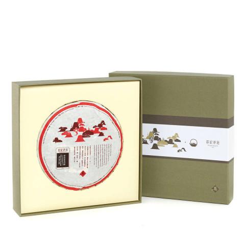 Ying Kee Tea House Selected Yunnan Pu-erh Cake Tea Production in 2017 300g