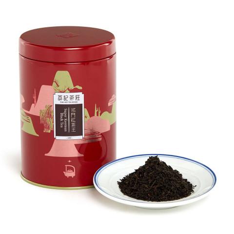 英記茶荘 缶入り茶葉 祁門紅茶 150g