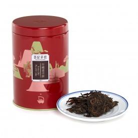 英記茶荘 缶入り茶葉 上等プーアル青餅 2007年産 150g