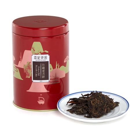 英記茶莊 罐裝茶葉 珍藏普洱餅 150克