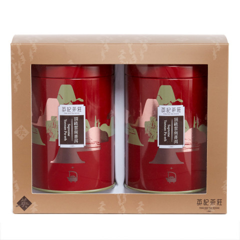 Ying Kee Tea House Premium Yunnan Pu-erh Tea (Can Packing) 150g x 2 cans