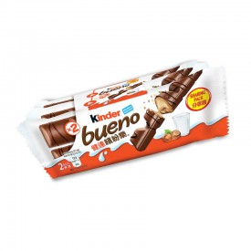 Kinder Bueno Chocolate Bar 43g x 3 packs