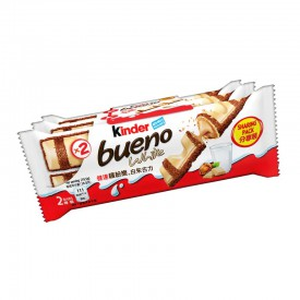 Kinder Bueno White Chocolate Bar 39g x 3 packs