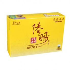 陸羽 ティーバッグ 茉莉香片(ジャスミン茶) 100袋