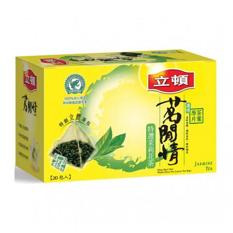 立頓 茶包 茗閒情茉莉花茶 20包
