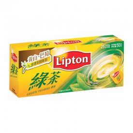 立頓 茶包 綠茶 25包