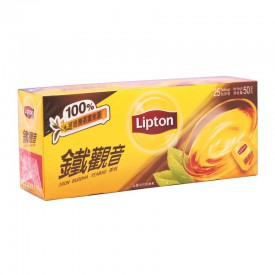 Lipton Tea Iron Buddha 25 teabags