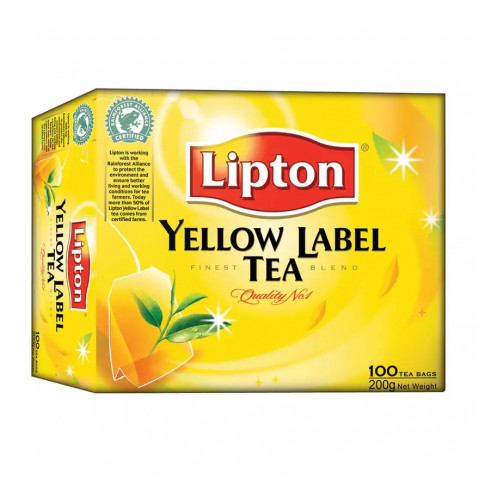 立頓 茶包 紅茶 100包
