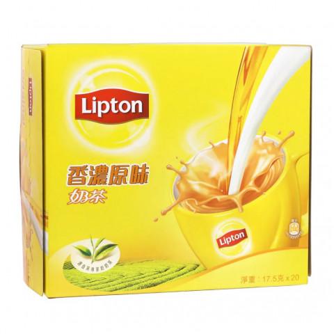 立頓 香濃原味奶茶 20包