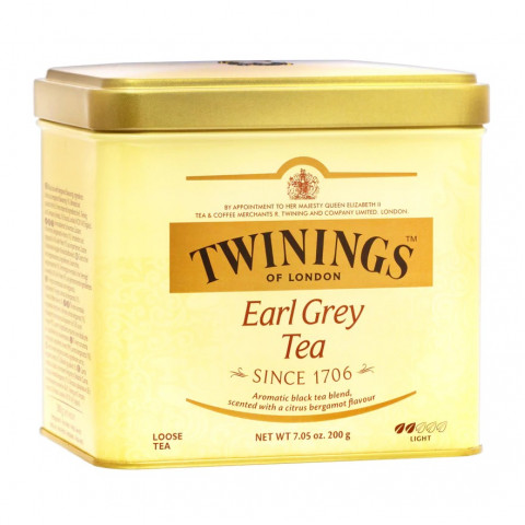 トワイニング 缶入り茶葉 アールグレイ 200g