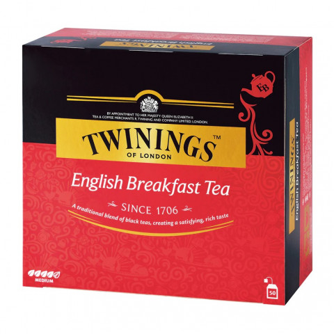 Twinings English Breakfast Tea 50 teabags