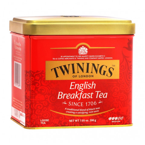 Twinings English Breakfast Tea (Can Packing) 200g