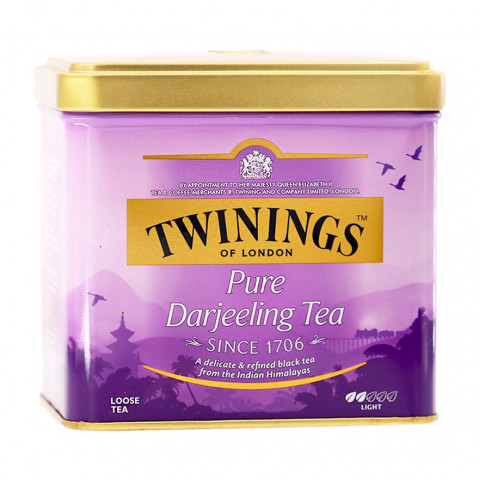Twinings Darjeeling Tea (Can Packing) 200g